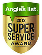 Solar Art Earns Esteemed 2013 Angie's List Super Service Award