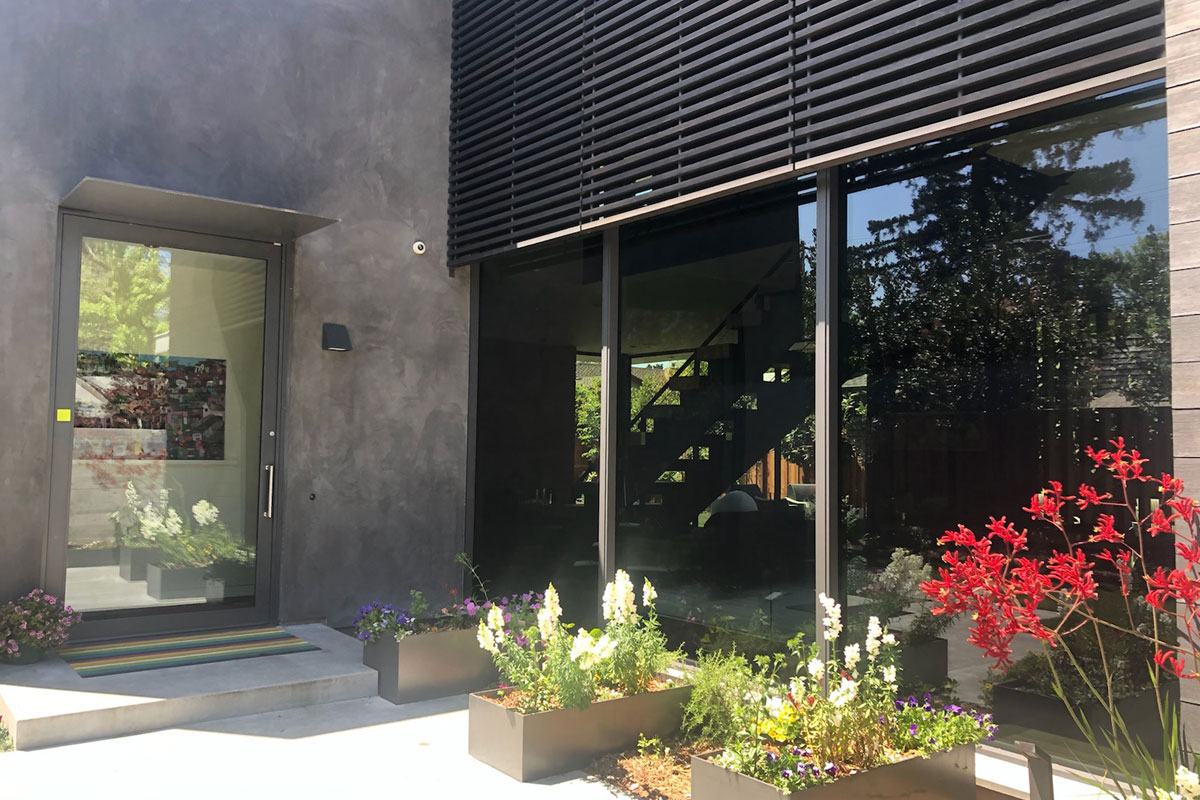 Window film increases home privacy