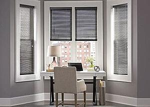 Decrease heat with blinds