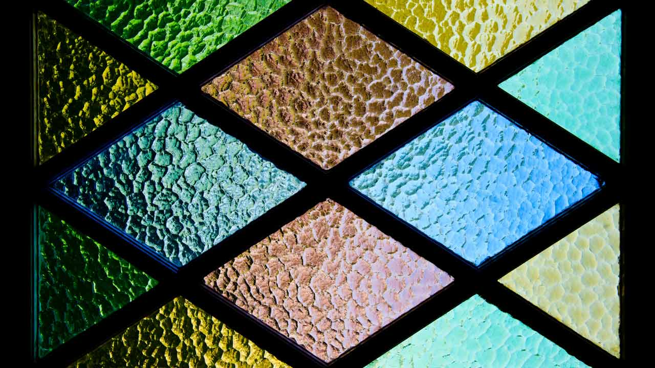 can window film be installed on textured glass