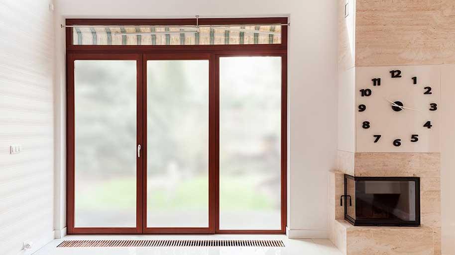 decorative privacy window film SXWF-TWM Transparent White Matte