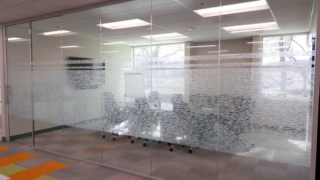 decorative window film for school privacy