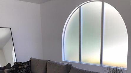 Decorative window film for home