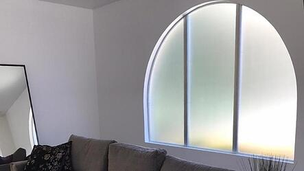 Decorative window film for home
