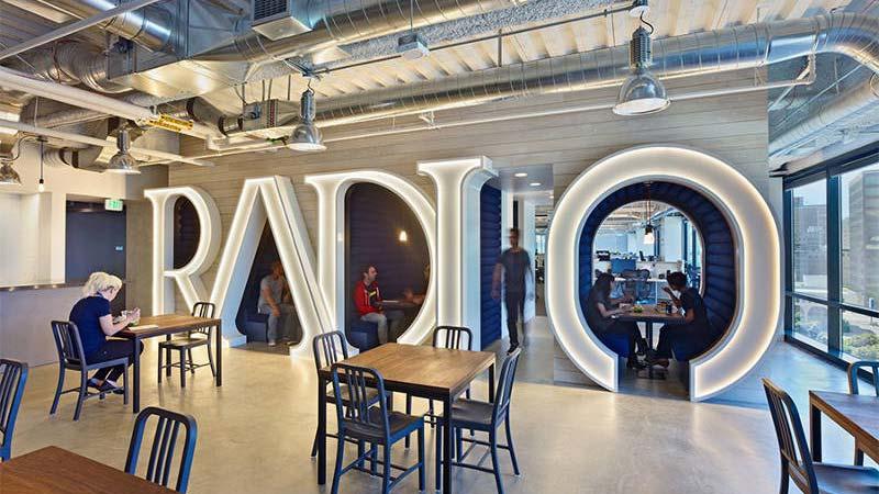 Pandora office interior design