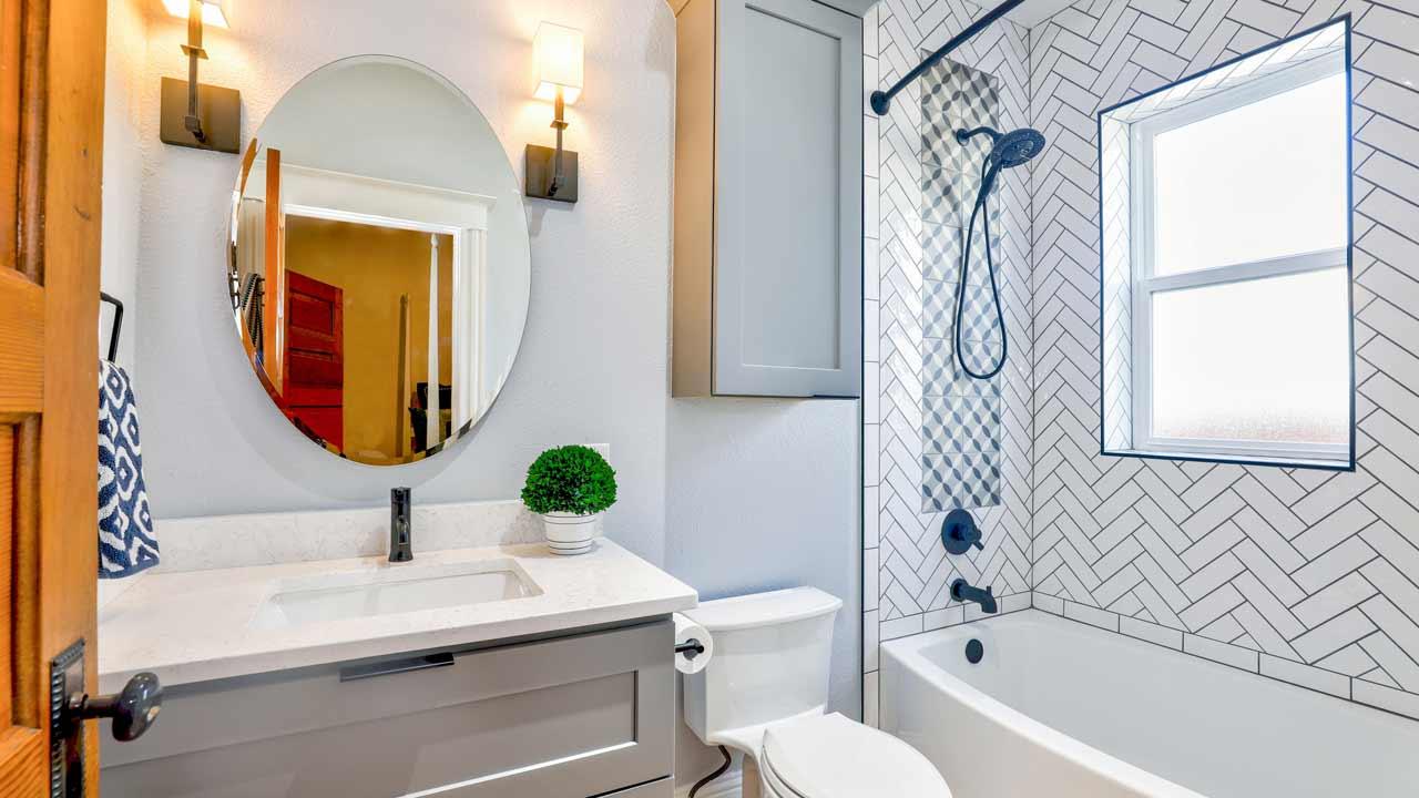updating fixtures in rental apartment