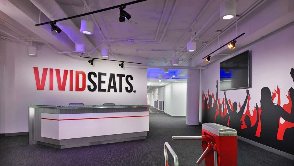 Vivid Seats office interior design