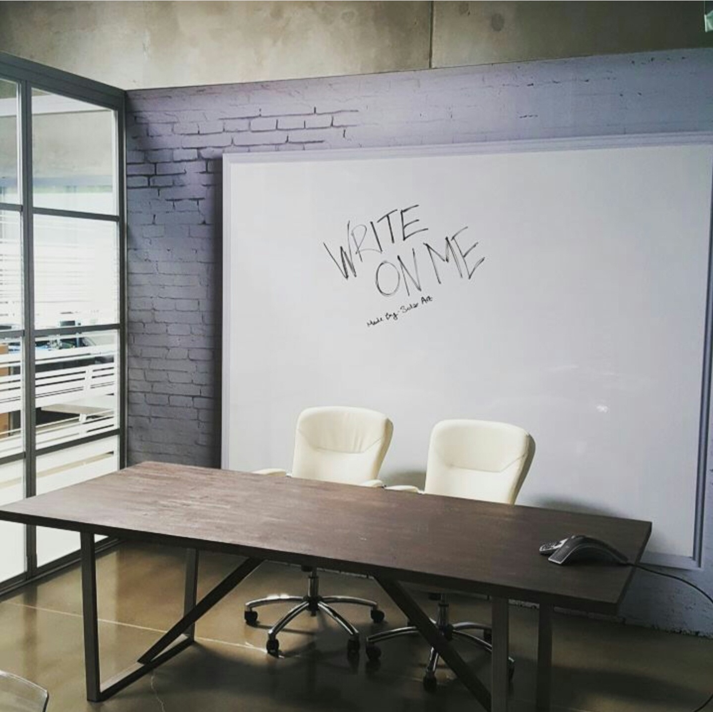 Custom Wall Mural with Solyx Dry Erase Film