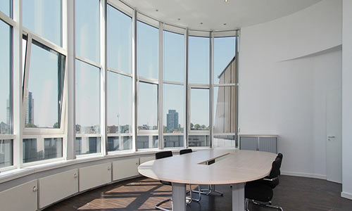 Reducing glare in office