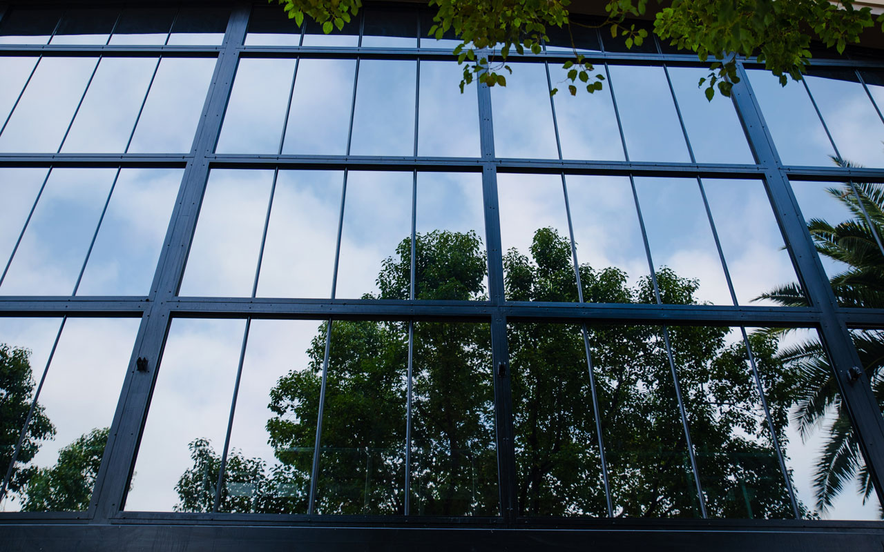 Reflective window film for your home and office windows