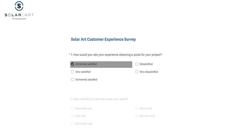 Sending-out-customer-surveys