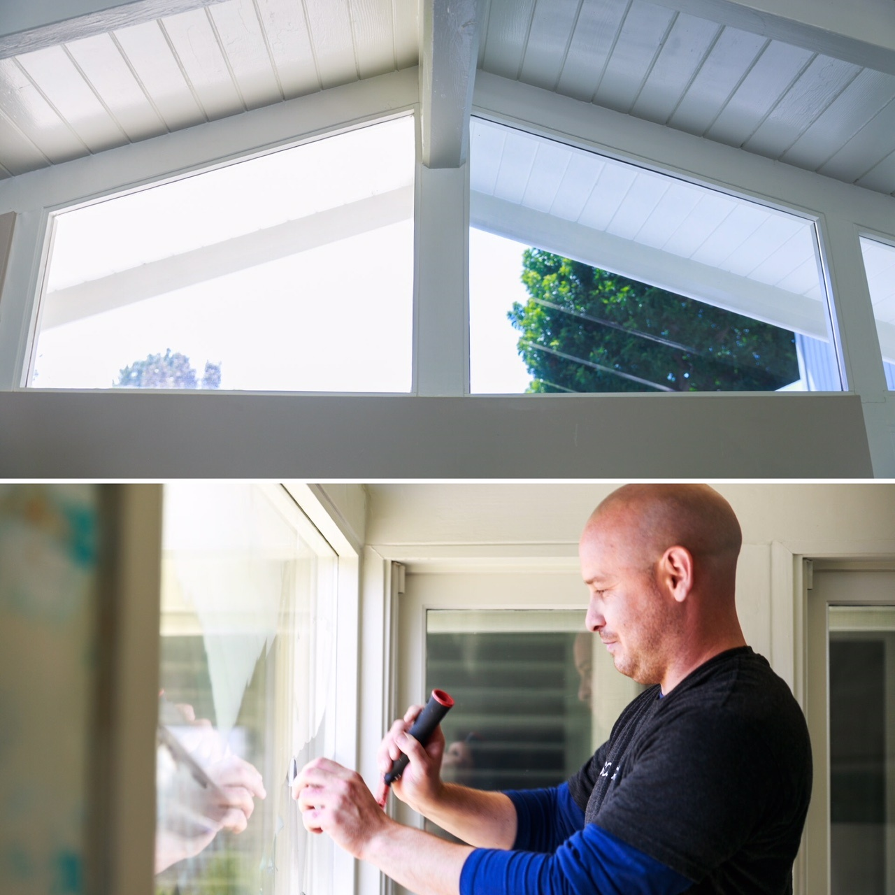 Residential Window Film Installation