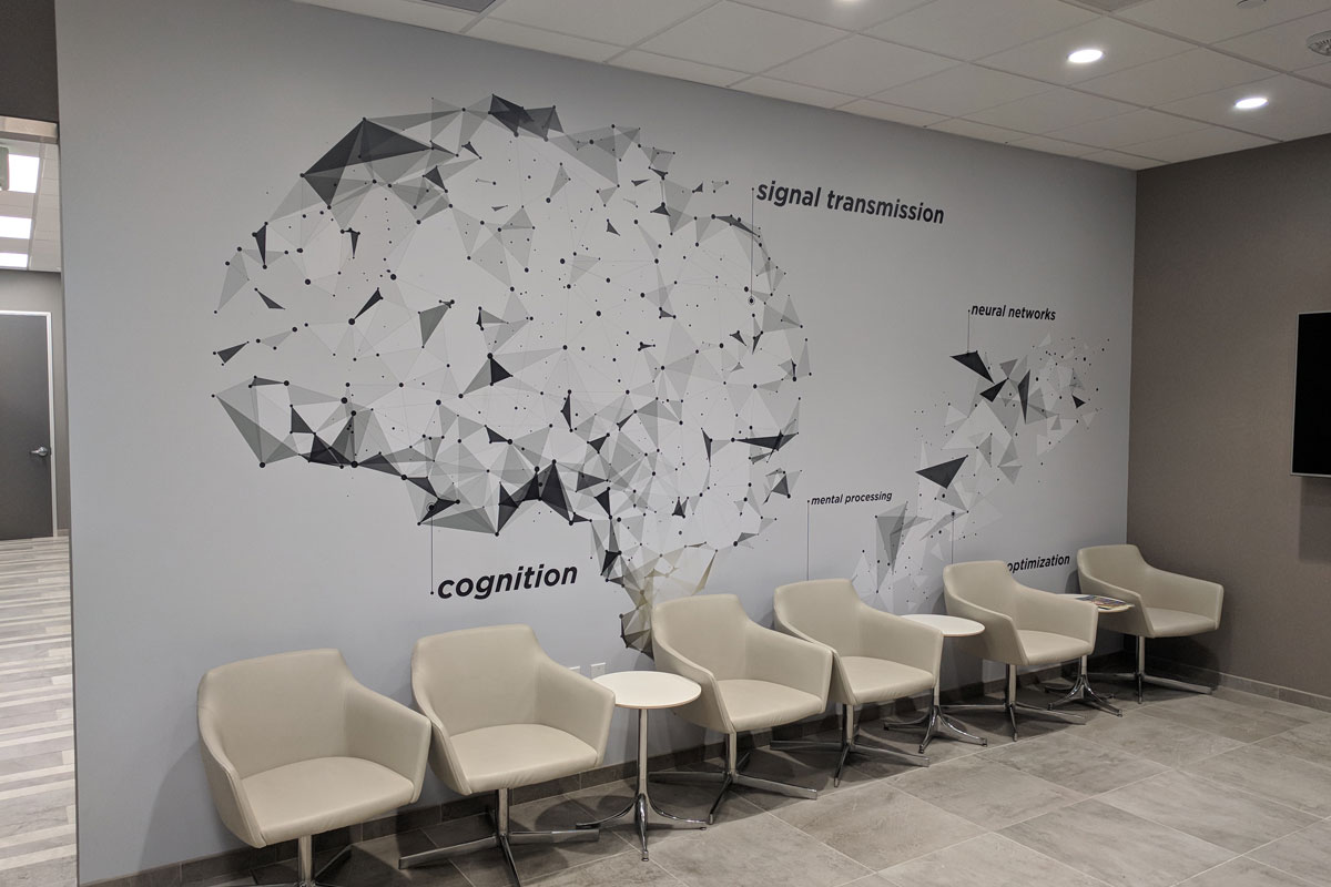 Company theme wall murals