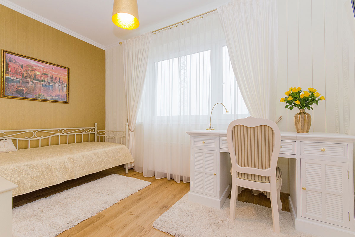 Curtains increase home privacy
