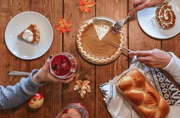 Prepare for Thanksgiving dinner