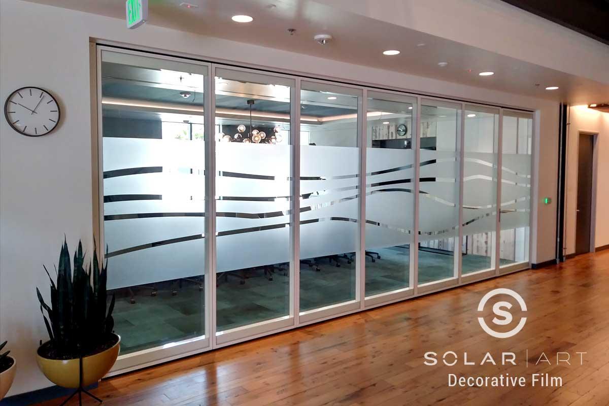 Solar Art Installed Casper Cloaking Filmto an Office in Huntington Beach, California!