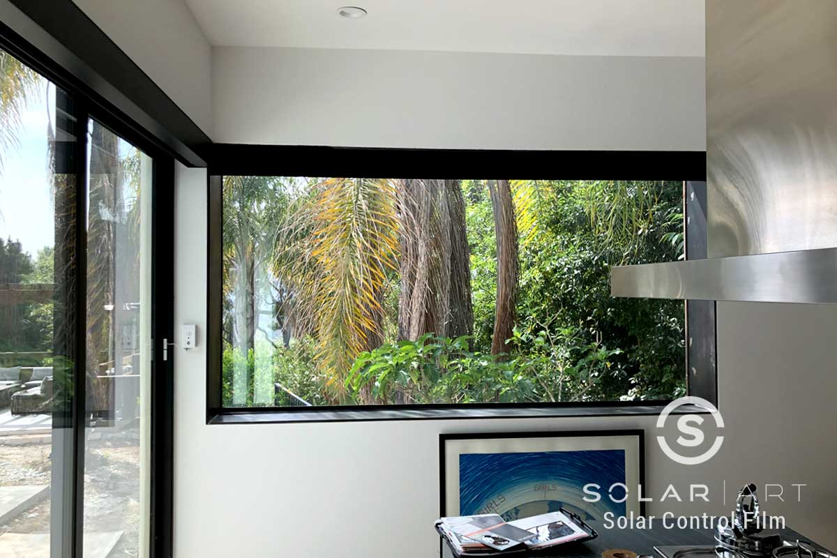 Solar Art Installed Energy Saving Window Film at a Home in Los Angeles, CA