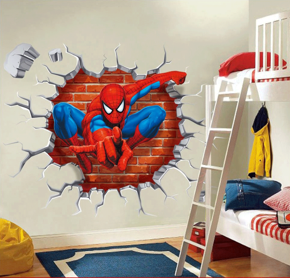 Custom Wallpaper for Kid Rooms and Game Rooms