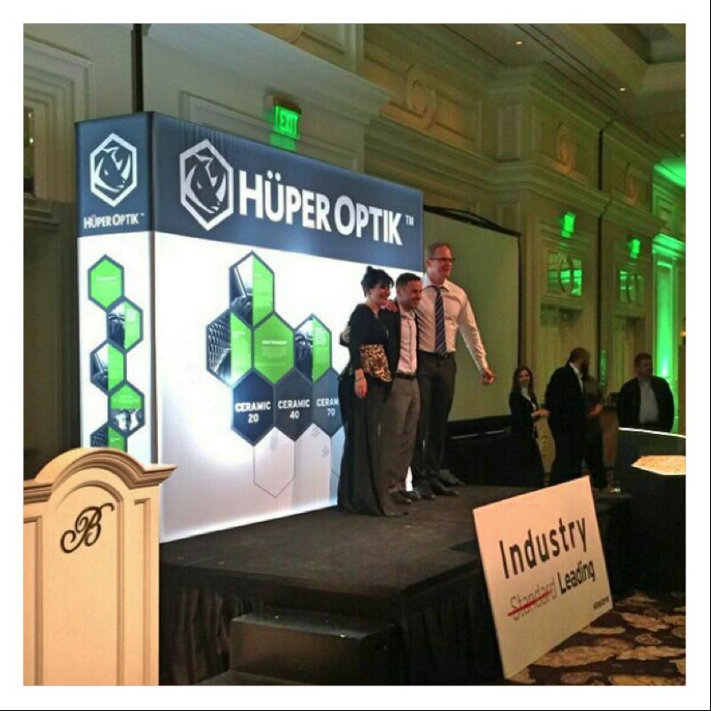 Huper Optik's Regional Dealer of the Year!